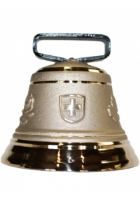 Nr. 10 - Echte Glocke Bronze zum Gebrauch (mit Riemen)