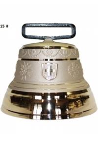 Nr. 15 - Echte Glocke Bronze zum Gebrauch (mit Riemen)