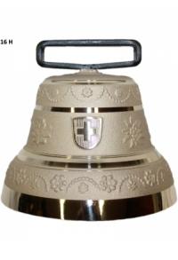 Nr. 16 - Echte Glocke Bronze zum Gebrauch (mit Riemen)