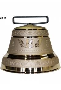Nr. 22 - Echte Glocke Bronze zum Gebrauch (mit Riemen)