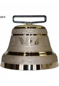 Nr. 23 - Echte Glocke Bronze zum Gebrauch (mit Riemen)