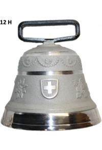 Nr. 12 - Echte Glocke Aluminium zum Gebrauch (mit Riemen)