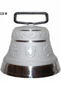Nr. 13 - Echte Glocke Aluminium zum Gebrauch (mit Riemen)