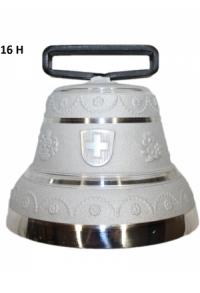 Nr. 16 - Echte Glocke Aluminium zum Gebrauch (mit Riemen)