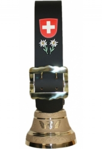 Glocken Schweiz mit Riemen schlicht (Maxi), Nr. 32 B