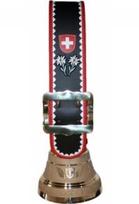 Glocken Schweiz mit Rundzack-Riemen und individuellem Logo..