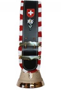 Glocken Schweiz mit Fransen-Riemen (Midi), Nr. 15 H