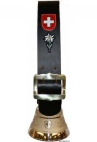 Glocken Schweiz mit Riemen schlicht (Midi), Nr. 14 H