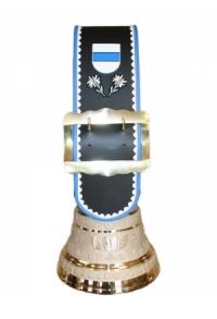 Glocke Kanton Zug mit Rundzack-Riemen, Nr. 22 H