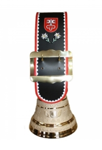 Glocke Kanton Nidwalden mit Rundzack-Riemen, Nr. 28 M