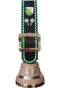 Glocke Kanton Luzern mit Rundzack-Riemen, Nr. 22 H