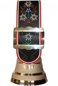 Premium Glocke mit individuellem Logo/Text, 32 cm / 65 cm
