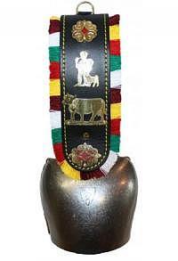 Treichel mit Riemen Appenzell, 34 cm